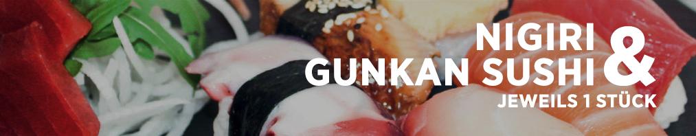 Nigiri & Gunkan Sushi